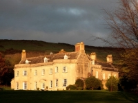 Smedmore House at sunset