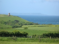 View to Kimmeridge and Clavell Tower