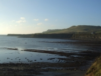 Clavell Tower across Kimmeridge Bay