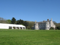 Marquee on Front Lawn at Smedmore House