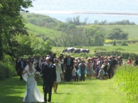 Avenue Ceremony at Smedmore House