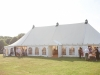Marquee Reception outside House