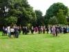 Wedding party in Main Garden