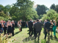 Garden Drinks Reception at Smedmore House