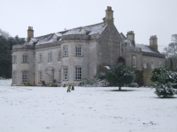 Smedmore House in Winter