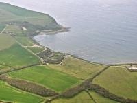Birdseye view of Kimmeridge Bay