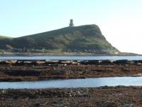 Clavell Tower across Kimmeridge Bay