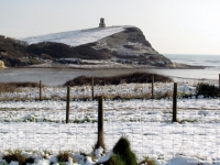 Clavell Tower in the Snow