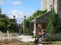 Wedding Ceremony in Walled Garden
