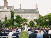 Garden Ceremony at Smedmore House
