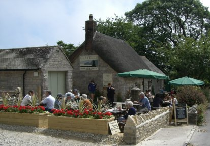 Clavell's cafe kimmeridge near smedmore house accommodation for rent in Dorset